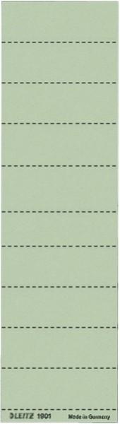 Leitz 1901 Blanko-Schildchen - Karton, 100 Stück, grün