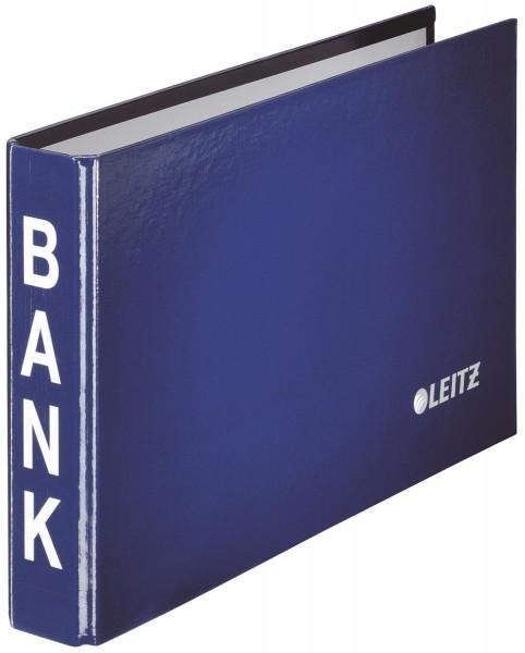 Leitz 1002 Bankordner, 2-Ringmechanik, 20 mm, blau
