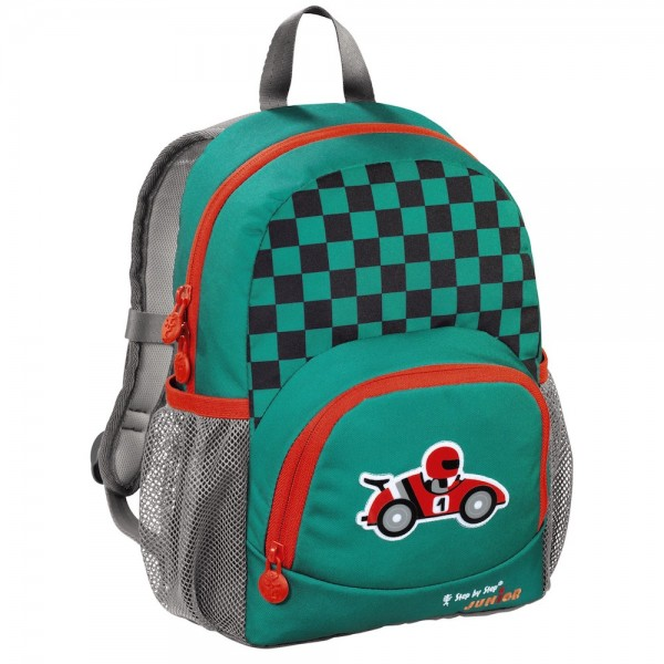 "Step by Step Junior Kindergartenrucksack ""Dressy"", Little Racer"