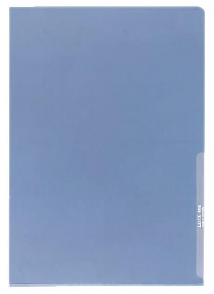 Leitz 4100 Sichthülle Premium, A4, PVC, dokumentenecht, blau