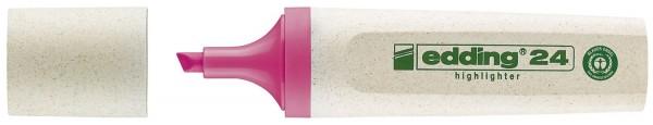 Edding 24 Textmarker Highlighter EcoLine - nachfüllbar, rosa