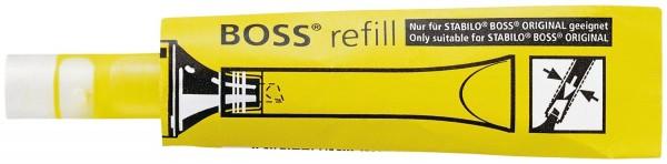 Stabilo® Nachfüllsystem BOSS® ORIGINAL refill, ORIGINAL, 3 ml, gelb