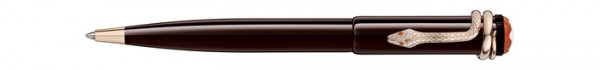 Montblanc Kugelschreiber Heritage Rouge & Noir Topic brown Special Edition