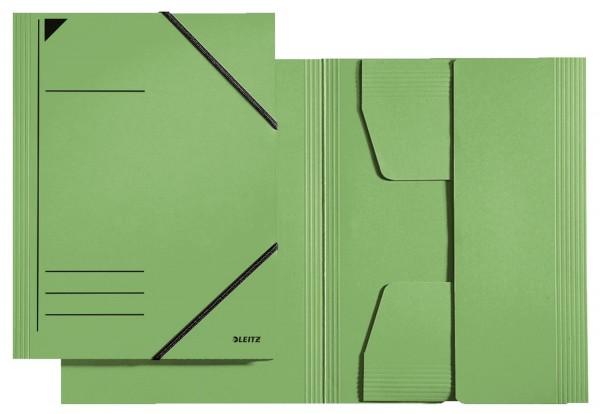 Leitz 3981 Eckspannermappe - A4, 250 Blatt, Pendarec-Karton (RC), grün