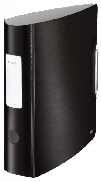 Leitz 1108 Ordner Active Style A4 - 82 mm, satin schwarz