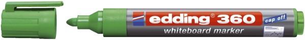 Edding 360 Boardmarker - nachfüllbar, 1,5 - 3mm, grün