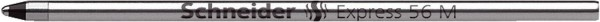 Schneider Kugelschreibermine Express 56 - M, schwarz (dokumentenecht)