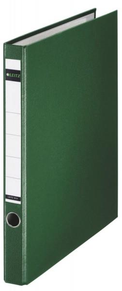 Leitz 1014 Ringordner, A4, PP, 2 Ringe, 35 mm, grün