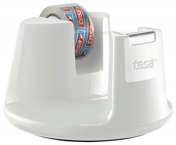 tesa® Tischabroller EasyCut - Compact, weiß