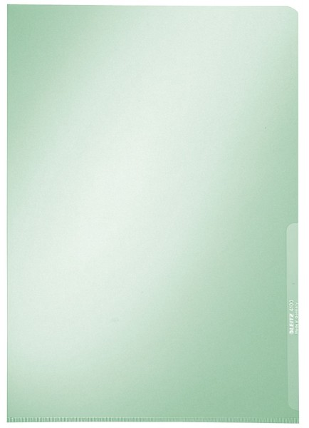 Leitz 4100 Sichthülle Premium, A4, PVC, dokumentenecht, grün