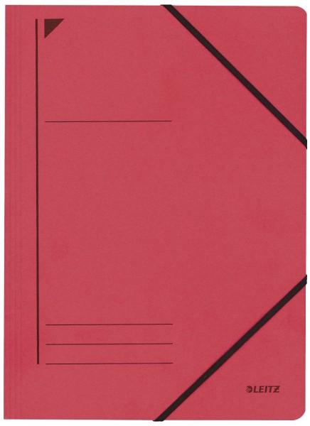 Leitz 3980 Eckspanner - A4, 250 Blatt, Pendarec-Karton (RC),, rot