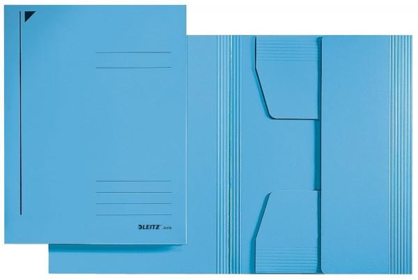 Leitz 3924 Jurismappe, A4, Colorspankarton 300g, blau