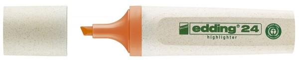 Edding 24 Textmarker Highlighter EcoLine - nachfüllbar, orange