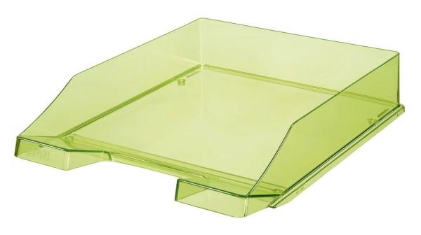 HAN Briefkorb KLASSIK A4, grün-transparent