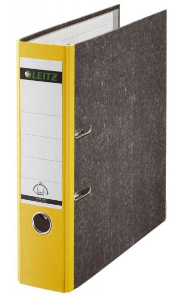 Leitz 1080 Ordner A4 Wolkenmarmor, 80 mm, gelb