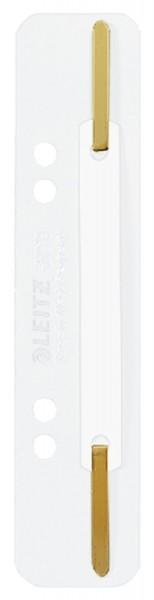 Leitz 3710 Einhänge-Heftstreifen PP, kurz - weiß, 25 Stück