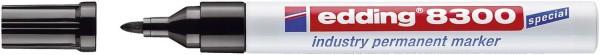 Edding 8300 Permanentmarker industry - 1,5 - 3 mm, schwarz