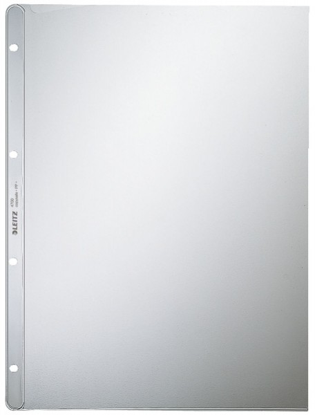 Leitz 4700 Prospekthülle Premium, A4, PP, genarbt, dokumentenecht, farblos
