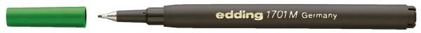 Edding 1701 M Finelinermine - Ersatzmine, 0,5 mm, grün