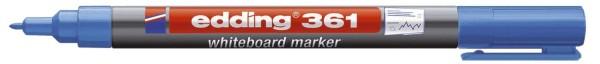 Edding 361 Boardmarker - nachfüllbar, 1 mm, blau