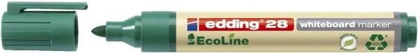 Edding 28 Boardmarker EcoLine - nachfüllbar, 1,5 - 3 mm, grün