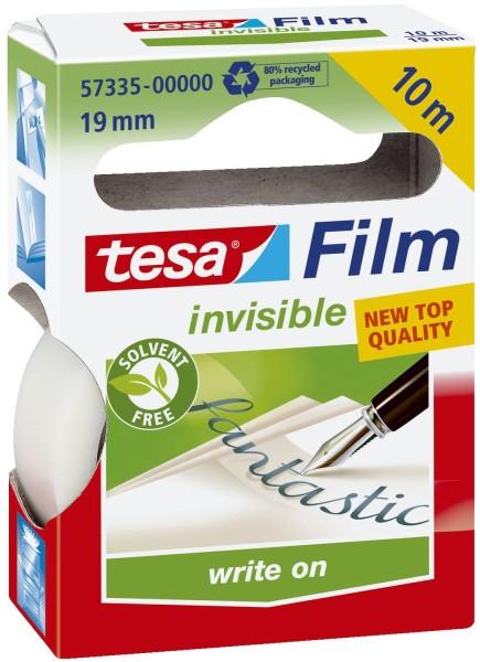 tesa® Klebefilm matt-unsichtbar - beschriftbar, Bandgröße (L x B): 10 m x 19 mm