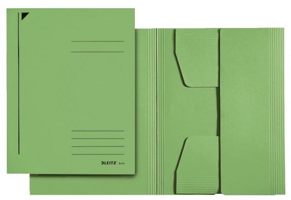Leitz 3924 Jurismappe, A4, Colorspankarton 300g, grün