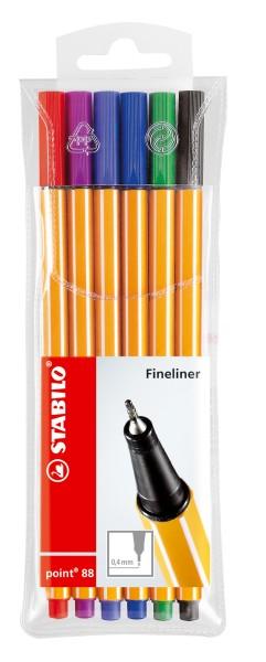 Stabilo® Fineliner point 88® Etui
