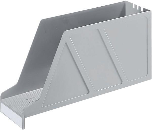 Leitz 2427 Stehsammler Standard - A4 quer, Polystyrol, grau