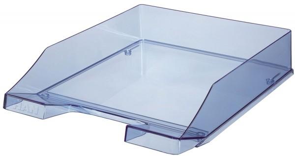 HAN Briefkorb KLASSIK A4, blau-transparent