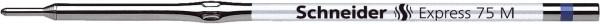Schneider Kugelschreibermine Express 75 - M, blau (dokumentenecht)