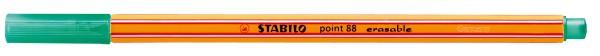 Stabilo® Fineliner point 88® erasable, 0,4 mm, schwarz