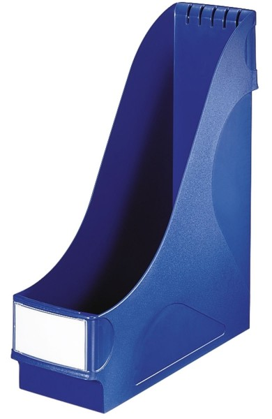 Leitz 2425 Stehsammler - extrabreit, A4, Kunststoff, blau