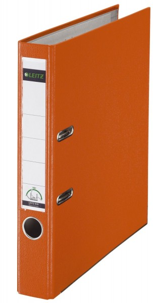 Leitz 1015 Ordner Plastik - A4, 52 mm, orange