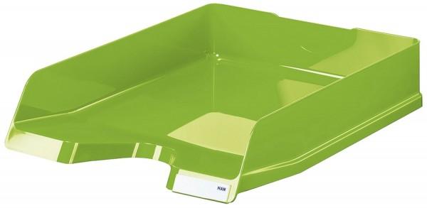 HAN Briefablage VIVA - DIN A4/C4,hochglänzend, stapelbar, New Colours grün