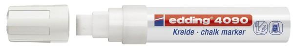 Edding 4090 Windowmarker - 4 - 15 mm, weiß